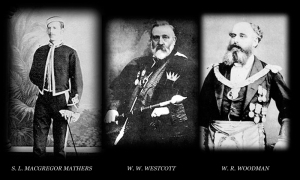 Some original  masters of the Goldn Dawn society.